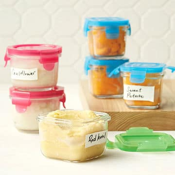 Advantages of homemade baby food
